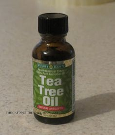 Tea tree oil for skin tags...WORKS!