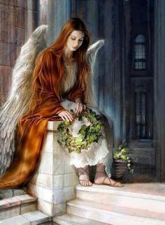 O my most beautiful spirit Angel has appeared! Foto Fantasy, Fantasy Kunst, Fantasy Art, Dark Fantasy, Dark Angels, Fallen Angels, Angel Images, Angel Pictures, Beautiful Angels Pictures
