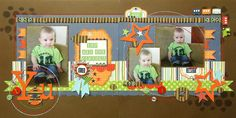 Fantastic boy layout, love all the flags and embellishments.