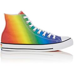 Converse Men's Chuck Taylor All Star Canvas Sneakers ($65) ❤ liked on Polyvore featuring men's fashion, men's shoes, men's sneakers, shoes, lgbt, no color, low heel mens dress shoes, mens hi top shoes, mens multi colored shoes and mens high top sneakers