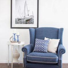 Love Chair Navy