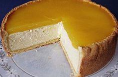 Vynikající tvarohový dort s příchutí pomeranče a bez přidání cukru