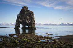 Rocas de Hvítserkur, #Islandia