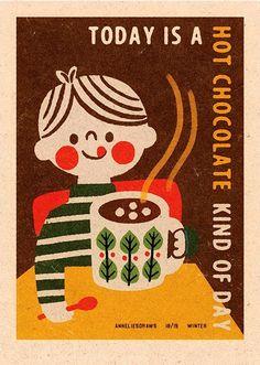 Illustration by Anneliesdraws. Matchbox Art, Poster Series, Poster Prints, Art Prints, Christen, Cute Illustration, Retro Illustrations, Botanical Prints, Wall Collage