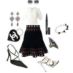 A-line Skirt..##