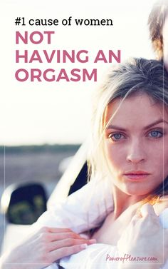 Female orgasm is about surrendering to sensation, to pleasure, allowing your body to do what it wants to do. You can't do that in a state of anxiety and tension ~ click to read more about orgasm, relationships, intimacy and sexual health