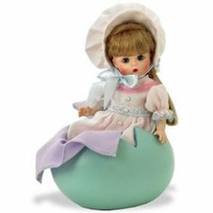 Madame Alexander Dolls 8 Inch Wizard Of Oz Hollywood Collection - Sleepyhead by Madame Alexander. $99.99. This sleepy head munchkin includes an egg-shaped resin bed with purple satin bedding.. This cute little Munchkin is wearing a pale pink and lavendar dress, trimmed in lace, and a big puffy bonnet.. Wizard of Oz characters are some of Madame Alexander's favorite silver screen classics. Premiering in 2007 is our latest collection based on the timeless classic, ...