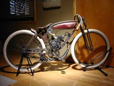Beautiful replica bike of an early Excelsior that was on Ebay. Sold for $3300.00