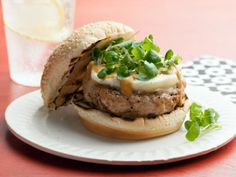 Get Turkey Burgers Recipe from Food Network