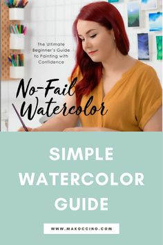 Are you wanting to learn how to watercolor paint? Check out my book No-Fail Watercolor to learn how to watercolor paint! Hey, I'm Mako from the YouTube channel 'makoccino'! Here you will find my tips and tutorials on how to do watercolor paintings! Find me on Instagram @makoccinos #watercolor #watercolorartist #howtowatercolor
