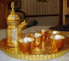 arabic coffee set - just beautiful