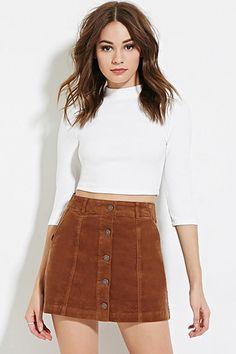 Bottoms - Skirts - Mini | WOMEN | Forever 21 I want dis skirt!!!