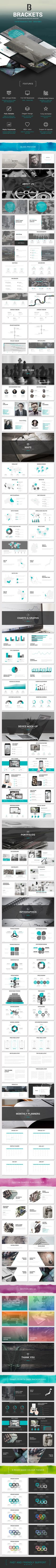 Brackets – multipurpose Keynote template — Keynote KEY #creative #marketing strategy • Download ➝ https://graphicriver.net/item/brackets-multipurpose-keynote-template/19491781?ref=pxcr