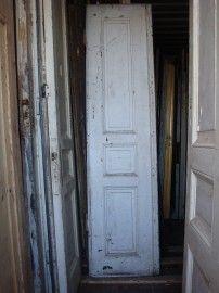 nr. 91 hoge smalle antieke deuren, veel stuks veel maten   Oude paneeldeuren, antieke binnendeuren   Oudedeur - paneeldeuren :