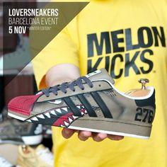 @melonkicks estará on  en LoverSneakers Barcelona Event 2016 Winter Edition  BUY / SELL / TRADE / EXPO  Sábado 5 de Noviembre. Estació del Nord - Barcelona  http://ift.tt/1iZuQ2v  #LSevent2016 #loversneakers #sneakerheads #sneakers #kicks #zapatillas #kicksonfire #kickstagram #sneakerfreaker #nicekicks #barcelona #snkrfrkr #sneakercollector #shoeporn #igsneskercommunity #sneakernews #solecollector #wdywt #womft #sneakeraddict #kotd #smyfh #hypebeast #bambas