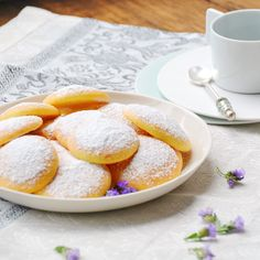 Biscotti allo yoghurt e limone (yoghurt and lemon biscuits) | italy on my mind
