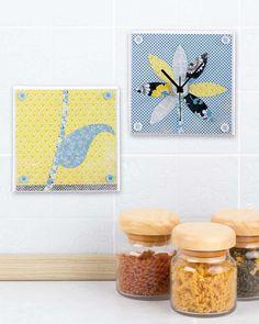 """©efco-freizeit-engel.de - Uhren basteln (Idee mit Anleitung – Klick auf """"Besuchen"""")"""