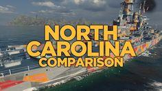 World of Warships - North Carolina Comparison