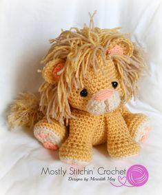 Mesmerizing Crochet an Amigurumi Rabbit Ideas. Lovely Crochet an Amigurumi Rabbit Ideas. Crochet Lion, Crochet Baby Toys, Crochet Toys Patterns, Love Crochet, Crochet Gifts, Amigurumi Patterns, Amigurumi Doll, Stuffed Toys Patterns, Baby Blanket Crochet