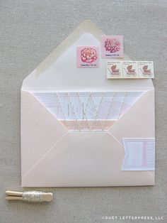 Beautiful stationery shot.  I wish people still wrote letters!