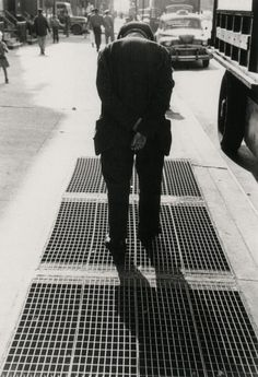 Saul Leiter Grates, circa 1950