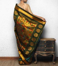 Blue Paithani Silk Saree