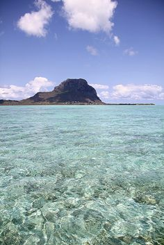The Morne lagoon - Mauritius