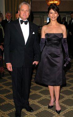 Couple Go-Lightly from Catherine Zeta-Jones & Michael Douglas: Romance Rewind | E! Online