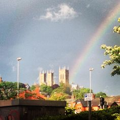 #lincoln #rainbow