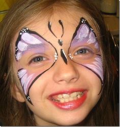 simple face painting - Bing Images