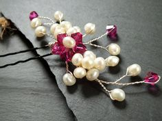 Large+bridal+hairpin%2C+freshwater+pearl+hair+accessory+for+bride+or+bridesmaid%2C+customisable