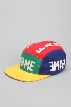 Hall Of Fame Reflect 5-Panel Hat Fashion Men, Urban Fashion, 5 Panel Hat, Mens Caps, Caps Hats, Baseball Cap, Urban Outfitters, My Style, Board