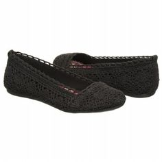 Women's FERGALICIOUS Mosley Black Crochet FamousFootwear.com