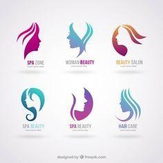 Logotipos salão de beleza