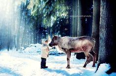 10photos d'enfantsavec des animaux sauvages qui vous couperont le souffle.Les enfants semblent être plus connectés aux animaux, à la nature et la Terre