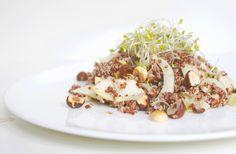 Quinoa-Salat mit Fenchel, Birnen und Haselnussdressing: http://blog.natuerlichnadine.de/quinoa-salat-mit-fenchel-chicoree-und-birnen-an-haselnussdressing/ +++++ Quinoa salad with fennel, pear and hazelnut dressing: http://blog.natuerlichnadine.de/quinoa-salat-mit-fenchel-chicoree-und-birnen-an-haselnussdressing/