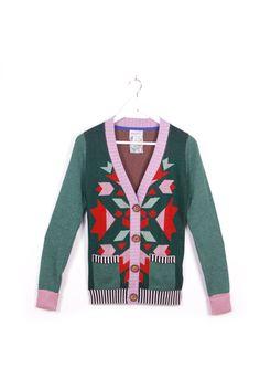 Enchanted Forest Cardigan by @Sheila F on Etsy, $125.00 #handmade #cardigan #wool #pattern