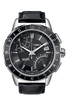 Timex® 'Intelligent Quartz' Flyback Chronograph Watch available at Nordstrom