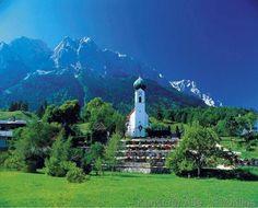 Waxensteine, Zugspitze Oberbayern BRD (Werdenfelser Land) Europa