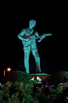 Buddy Holly Remembered  -  Lubbock, Texas.  Buddy Holly was killed in 1959, but his music makes my feet move to this day.