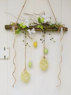 Window Hanger Easter Decorative Objects Home Accessories Handmade with love i. , Window Hanger Easter Decorative Objects Home Accessories Handmade with love in Wiesbaden Germany by Sotilala Easter Projects, Easter Crafts, Diy Home Accessories, Diy Ostern, Easter Wreaths, Spring Crafts, Decorative Objects, Diy Design, Diy And Crafts