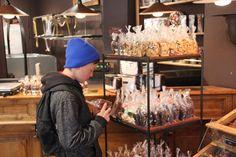 Chocolate shop in Paris, gonna get fat.