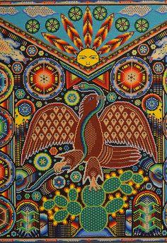 Más tamaños | Mexican Eagle Huichol | Flickr: ¡Intercambio de fotos!
