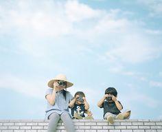 hideaki hamada // amazing photographer-dad in japan