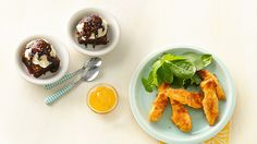 Summertime Supper: Ultimate Chicken Fingers & Brownie Sundaes