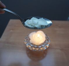 DIY Lush Big Sea Salt Volume Shampoo: Melt coconut oil   The Makeup Dummy