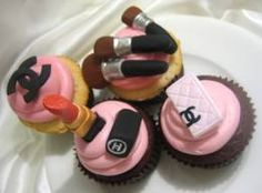 Beauty cupcakes