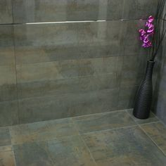 Image result for porcelanosa shine dark wall tiles