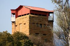File:Anglo-Boer War Blockhouse at Harrismith, Free State. Small Castles, War Novels, Free State, Defence Force, Our Town, African History, Military History, South Africa, Landscape Photography