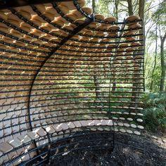 Pavilion in the Surrey Hills; Giles Miller Studio